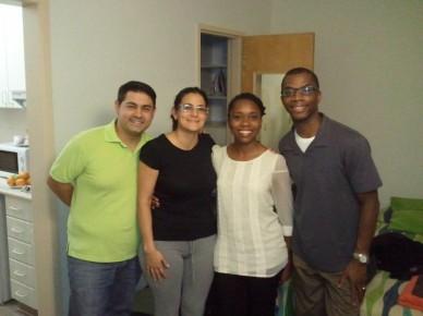 Pablo, Rebecca and us...
