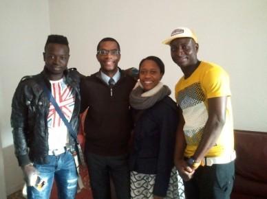 Samba, Antoine, Kanicia and Jean