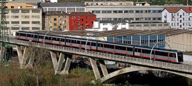 Metro Train Outdoors