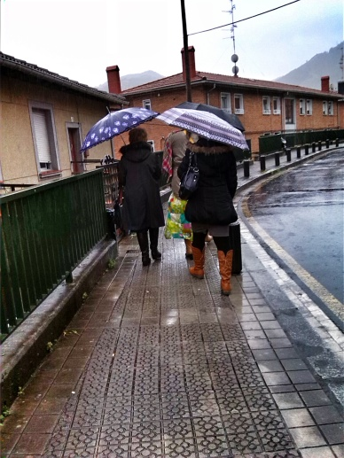 Umbrellas are a must have for the ministry here!