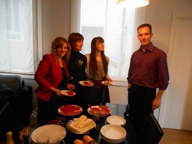 Miriam, Lidia, Maite & David