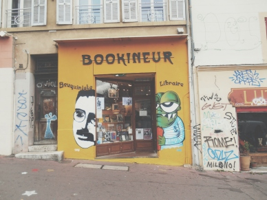 Bookstore in Marseille