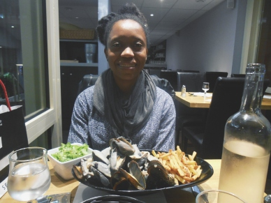 Moules Frites in Toulouse, France
