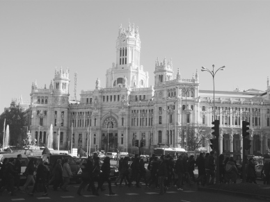 Amazing architecture in Madrid