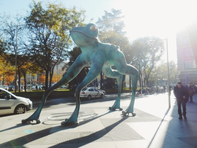 Some interesting animal statues in Madrid