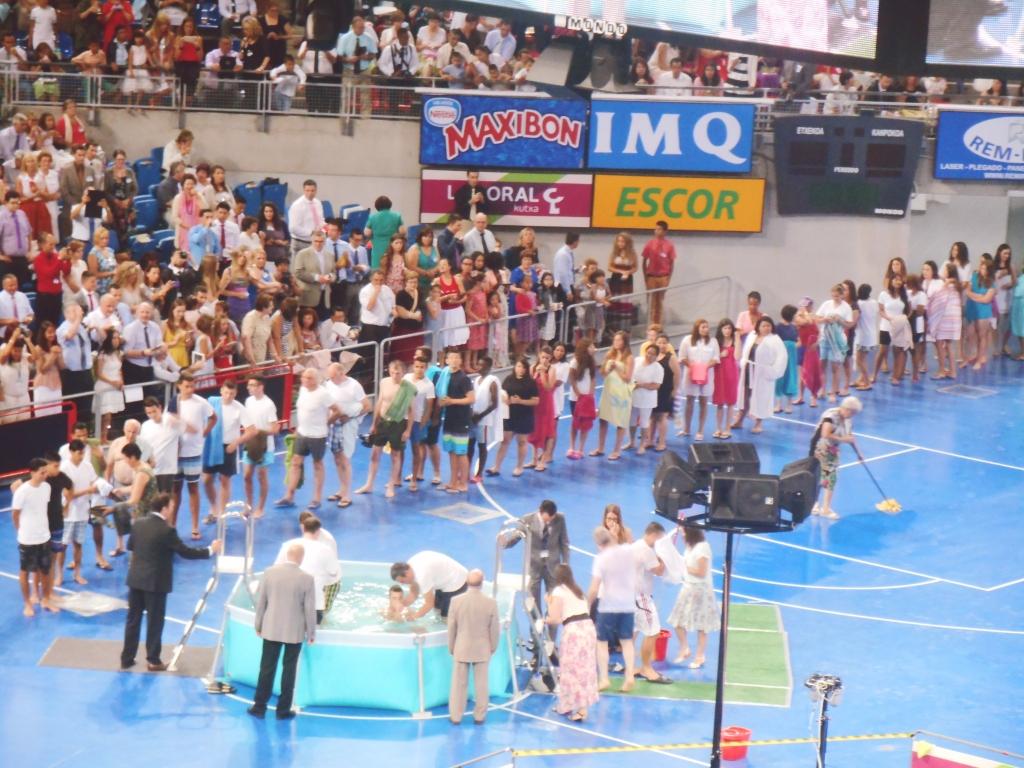 baptism line