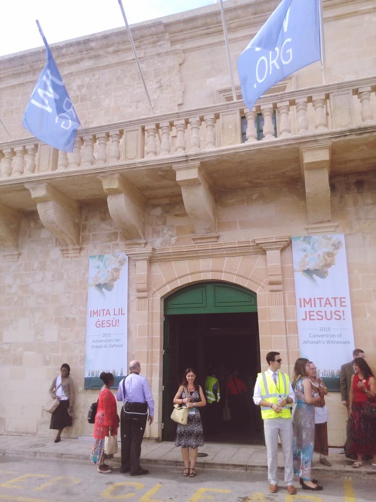assembly entrance